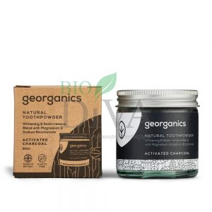 pasta de dinti organica pudra din carbune activ Georganics