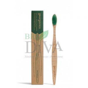 periuta de dinti organica lemn de fag